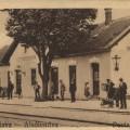 Železniška postaja v Dolnji Lendavi. Razglednica, ok. 1920 (GML Arhiv)
