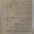 Arhivski dokument, ki opisuje postopek pri izvedbi zanke na žici-datirano z letom 20.4.1916, foto Mitja Vaupotič