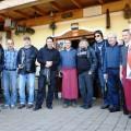 Glasbena skupina Ribja čorba in obiskovalci