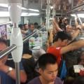 Gneča na Kitajski podzemni železnici