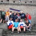Kitajski zid v slovenskih barvah