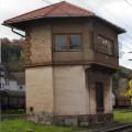 Kretniški stolp postaje Leoben Donawitz, ki je enak kot v Poljčanah, foto Mitja Vaupotič