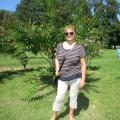 Marjetka v botaničnem vrtu