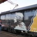 Matjaž ob lokomotivi Kralj Matjaž