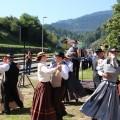 Nastop Folklorne skupine Dravca