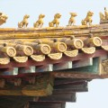 Peking podrobnosti na strehi