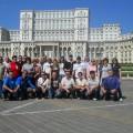 Pred parlamentom Bukarešta