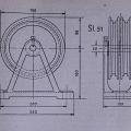 Primer načrta vertikalnih kolesc, iz knjige Ing. Debeljaka
