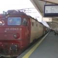 Romunska lokomotiva v Bukarešti