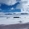 Snežni zameti na poti