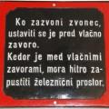 Svarilo-kovinsko, stalna razstava Železniškega muzeja SŽ, foto Mitja Vaupotič