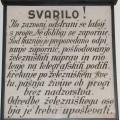 Svarilo, stalna razstava Železniškega muzeja SŽ, foto Mitja Vaupotič