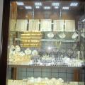 Tržnica v Carigradu zlato