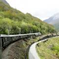 Vlak na poti v Flam