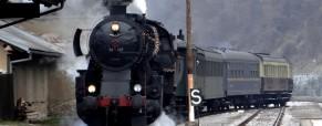Božičkov vlak ponovno na Koroškem