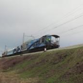 Prevoz transformatorja za TEŠ 6 v sliki