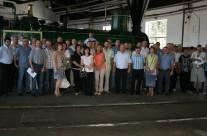 Podelitev priznanj za 30 let dela na železnici