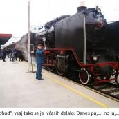 Božičkov muzejski vlak v Celju 22.12.2012