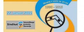 25 let Sindikata železniškega prometa Slovenije
