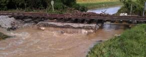 Poplava v Središču