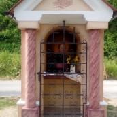 Blagoslov kapelice posvečene zavetniku železničarjev
