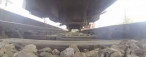 Kako izgleda vlak od spodaj